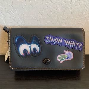 COACH X DISNEY DARK FAIRY TALE DINKY Crossbody NWT